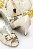 Handtasche und Schuhe Lizenzfreie Stockfotografie