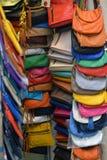 Handtaschen im System Stockbilder