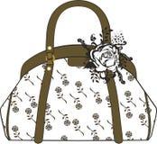handväska royaltyfri illustrationer