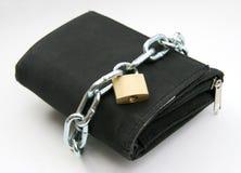 handväska för 2 padlock Arkivfoton
