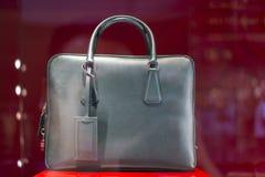 Handväska för svart fyrkant Royaltyfri Foto
