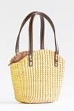Handväska från den gjorda handen -. Arkivbild