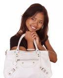 handväskakvinna Fotografering för Bildbyråer