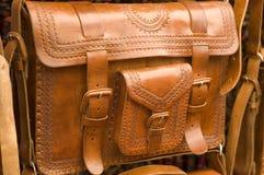 handväskaläder Royaltyfri Foto