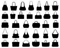 Handväskor Arkivfoto