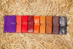 Handväskor i höet Royaltyfria Foton