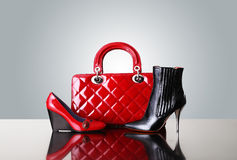 handväskaskor Royaltyfri Fotografi