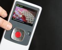 Handvideoeinheit Lizenzfreies Stockfoto