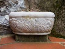 Handwash dekorerade marmor Royaltyfria Foton