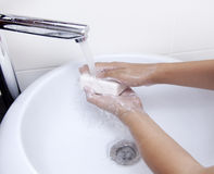 Handwashing stock fotografie