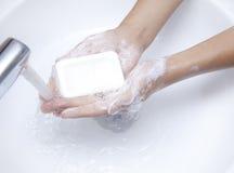 Handwashing stock foto's