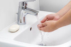Handwashing Stock Photo