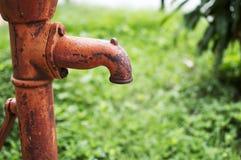 Handwasser-Pumpe Lizenzfreie Stockfotografie