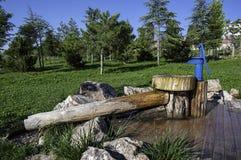 Handwasser-Pumpe Lizenzfreie Stockbilder