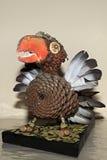 Handwerk von Vögeln von den Kegeln, von den Greifern und von den Federn Lizenzfreie Stockfotos