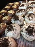 Handwerker-Donuts Stockfotos