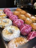 Handwerker-Donuts Stockbild