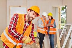 Handwerker- und Handwerkerarbeiten stockbilder