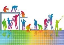 Handwerkerarbeiten Lizenzfreie Stockfotos