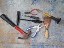 Handwerkerwerkzeug Lizenzfreie Stockfotos