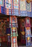 Handwerkkünste des tibetanischen Buddhismus in Nepal Stockbilder