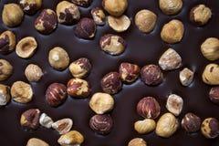 Handwerkliche Schokoladennahaufnahme Stockfotos