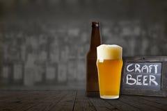 Handwerks-Bier stockfotos