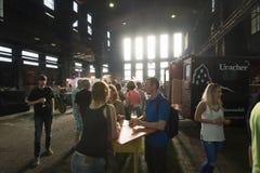 Handwerksbierfestival Lizenzfreies Stockfoto