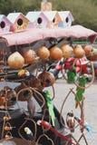 Handwerksfarben einer Messe lizenzfreie stockfotos