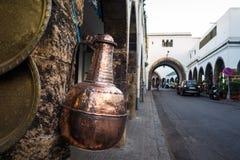 Handwerksmarkt in Casablanca lizenzfreies stockbild