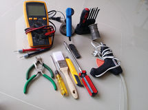 Handwerkzeuge Stockbild
