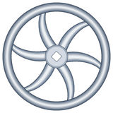 Handwheel Royalty Free Stock Photo