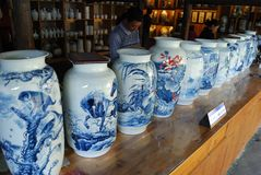Handwork chinaware 2 Royalty-vrije Stock Foto