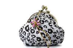 The handwork does bag and  jewelry Royalty Free Stock Photo