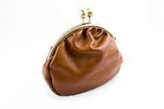 The handwork does Makeup bag(purse) Stock Image