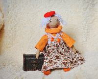 Handwork dolls Stock Images