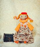 Handwork dolls Stock Photo