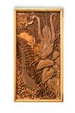 handwork rzeźbiący obrazek Obrazy Royalty Free