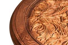 handwork rzeźbiący stół Zdjęcie Royalty Free