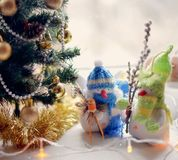 Handwork of toys Stock Photography