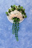 Handwork wedding bouquet Stock Photos
