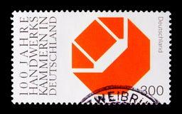Handworkers-Kammer, Jahrhundert von Kammern von Handwerkkünste serie, circa 2000 Stockfotografie