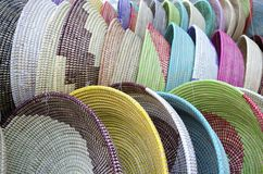 Handwoven Baskets Royalty Free Stock Image