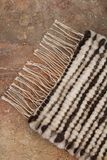 Handwoven wool rug Royalty Free Stock Images