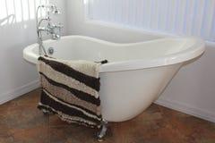 Handwoven wool rug Stock Photos