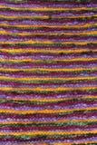 Handwoven wool rug Stock Photo