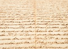 Handwriting Royalty Free Stock Image