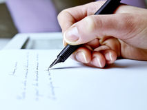 Handwriting Stock Photography