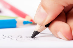 handwriting Imagem de Stock