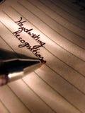 Handwriting Analysis Stock Photos